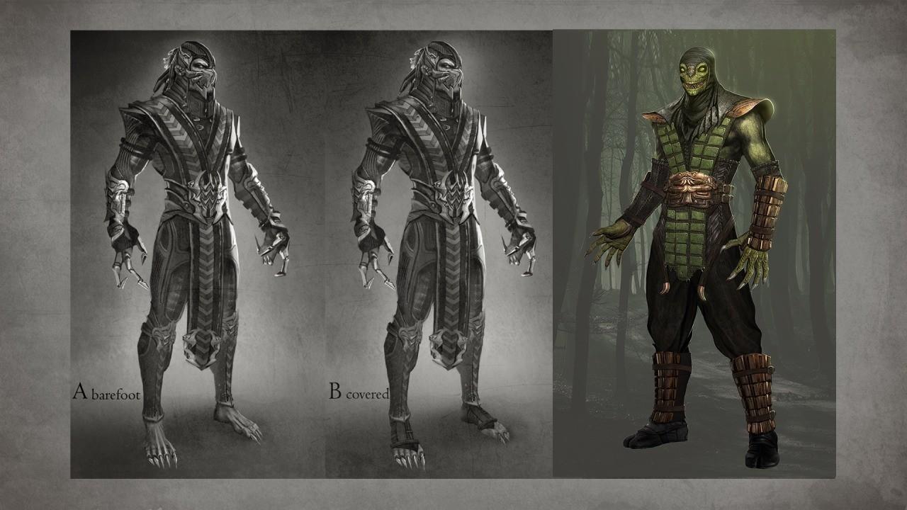 Mortal Kombat 9 Ladder ModeReptile Costume 2  YouTube
